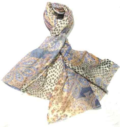Wool Digital Printed Shawl