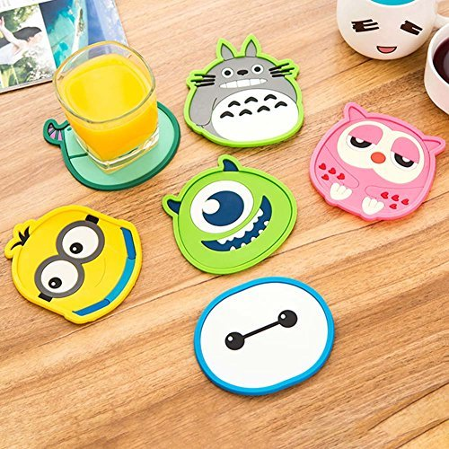 Silicone tea coaster