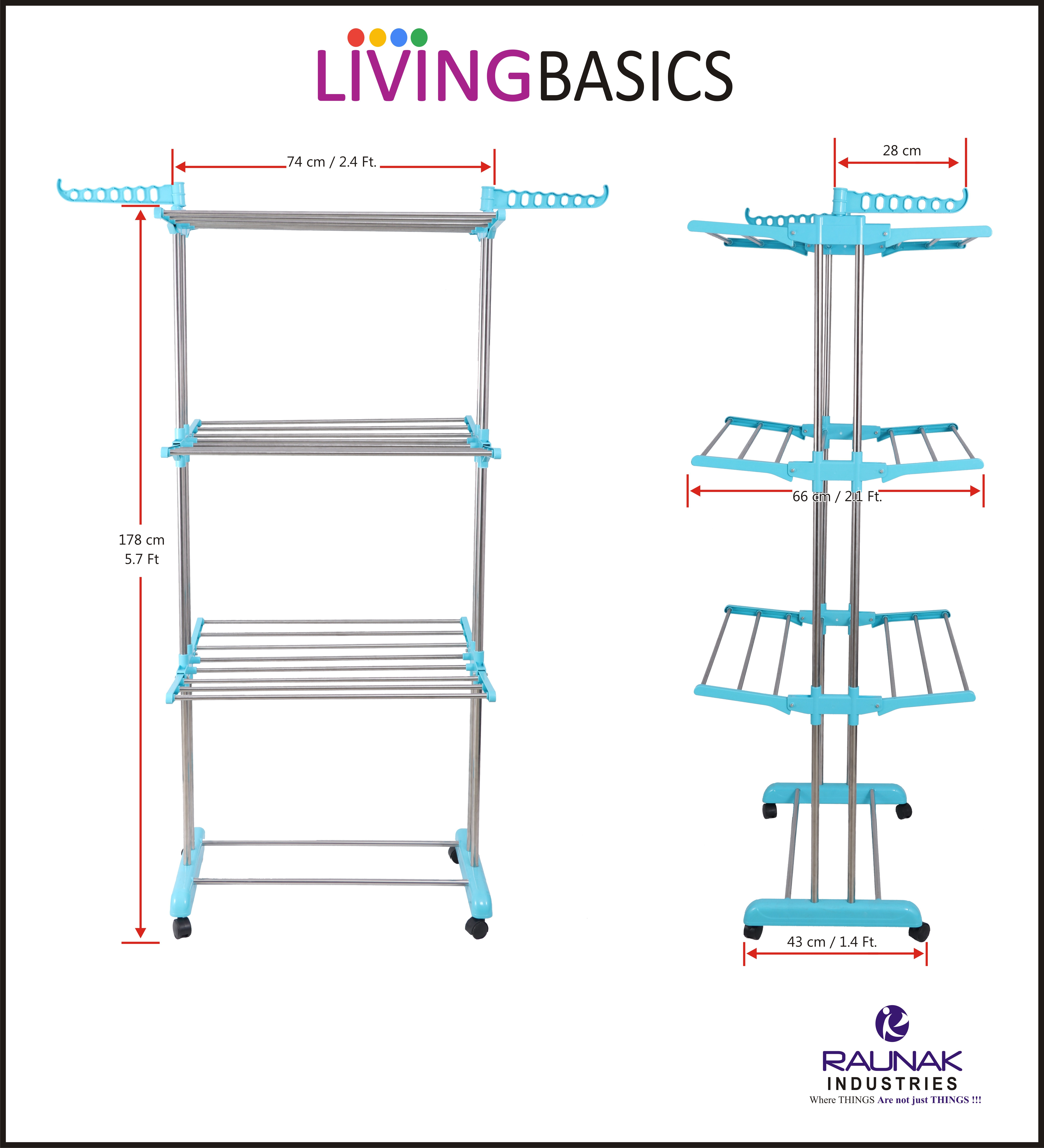 Stainless Steel Clothes Dryer Stand