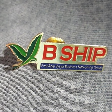 Metal Lapel Pin