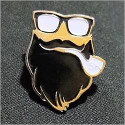 Beard Lapel Pin
