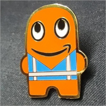 Cartoon Lapel Pin