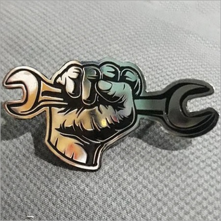 Cut Out Lapel Pin