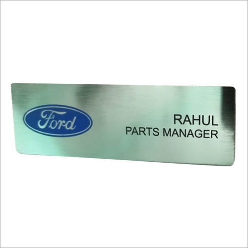 Corporate Name Badge