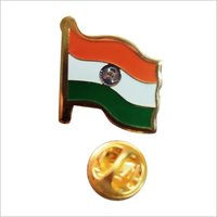 Indian Flag Lapel Pin