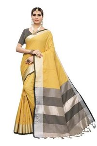 Latest Linen Saree