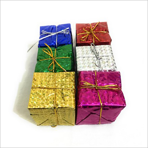 Christmas Tree Hanging Gift Box