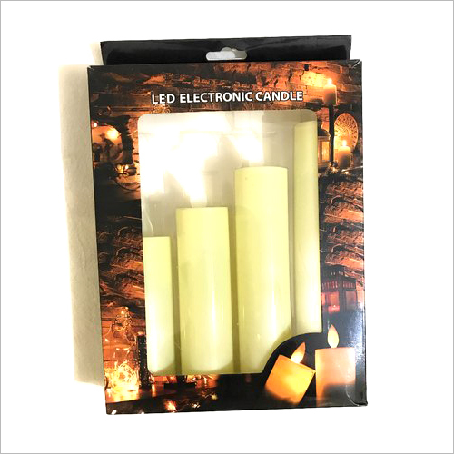 4Pcs LED Electronic Candle Set