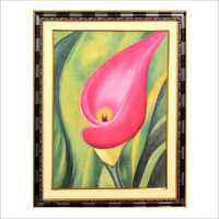 Flower Oil Canvas Painting