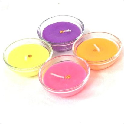 Fancy Wax Glass Candles Certifications: Available