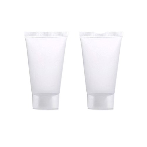 White Cosmetic Cream Packaging Tube