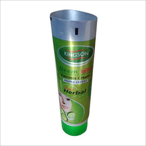 Face Wash Plastic Blank Packaging Tube