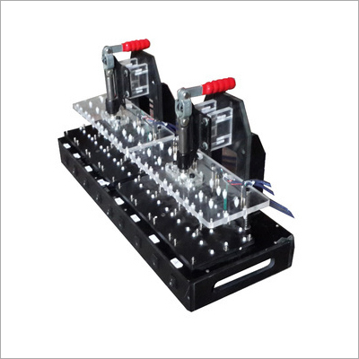 Mobile PCB Testing Jig Fixture