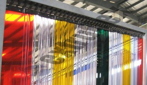 PVC Strip Curtains Multicolor