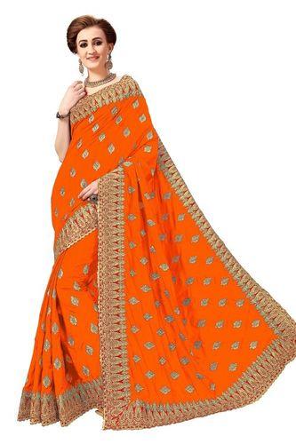 Silk Embroidery Saree(K790)