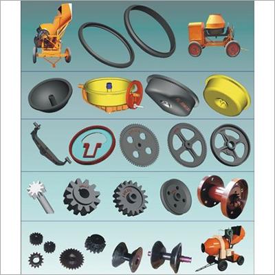 Concrete Mixer Machine Spare Parts