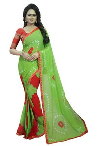 Latest Chiffon Saree