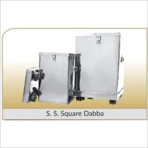 Storage Box SS Square Commercial