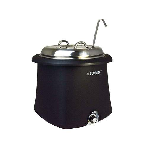 NEW SHAPE SOUP POT BLACK