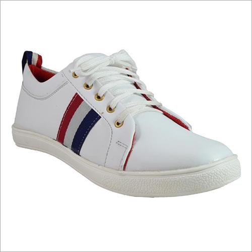 Breathable Mens White Canvas Shoes