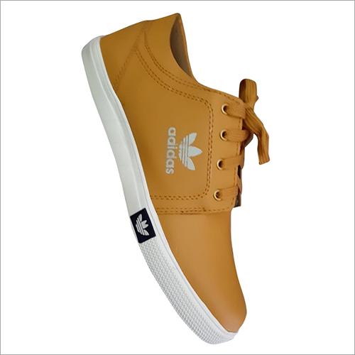 Breathable Tan Color Canvas Shoes