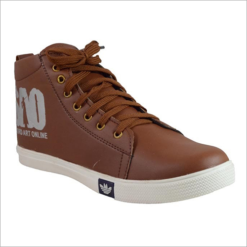 Brown Canvas Shoes