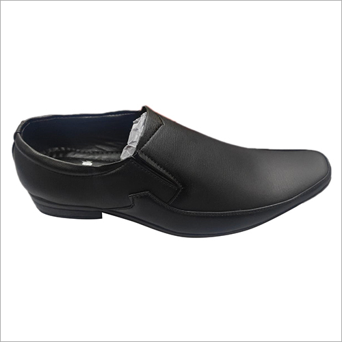 PU Leather Formal Shoes Without Lace