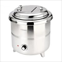 SOUP WARMER, STAINLESS STEEL BODY
