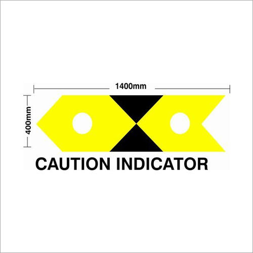 Caution Indicator Sign Board