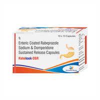 Enteric Coated Rabeprazole Sodium And Domperidone Sustained Release Capsules