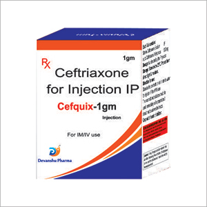 Ceftriaxone for Injection IP