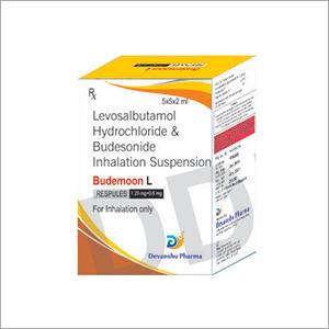 Levosalbutamol Hydrochloride And Budesonide Inhalation Suspension