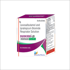 Levosalbutamol And Ipratropium Bromide Respirator Solution