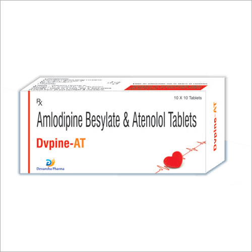 Amlodipine Besylate And Atenolol Tablets