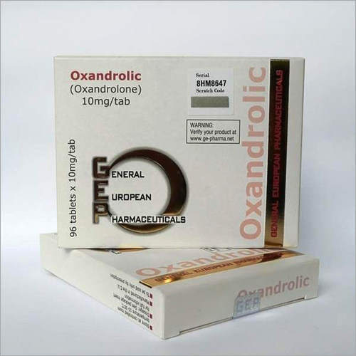 10MG OxandrolicTablet