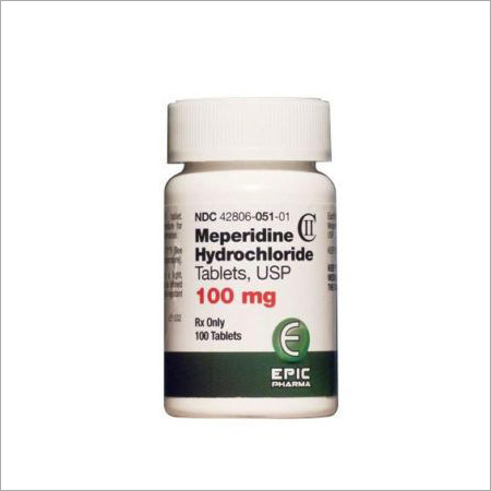 100MG Meperidine HCL Tablet