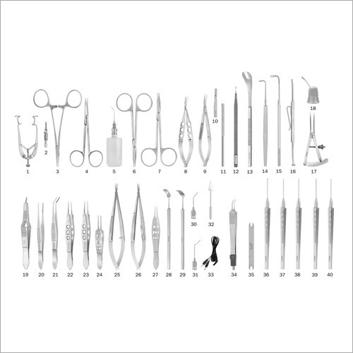 Lacrimal Eye Surgery Instruments