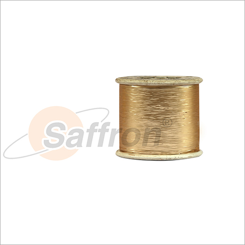 Golden Metallic Yarn