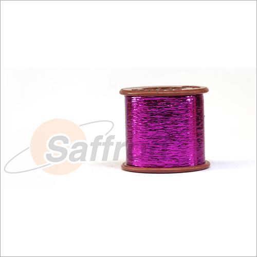 Colored Metallic Yarn