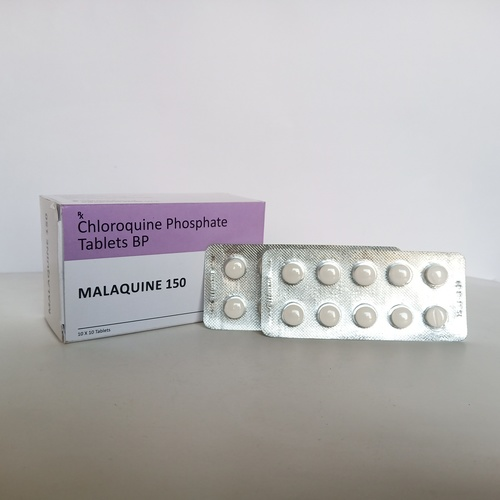 Malaquine 150 Tablets Certifications: Who-Gmp/Coa