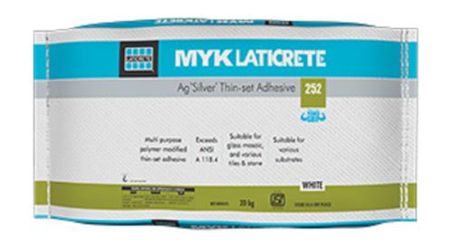 MYK Laticrete 252 Ag Silver