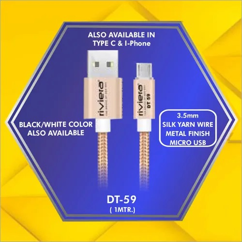 3.5 mm Micro Usb Data Cable