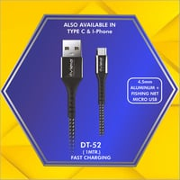 4.5 mm C-Type Micro Usb Data Cable