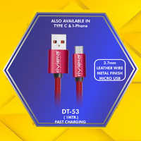 3.7 mm Micro Usb Data Cable