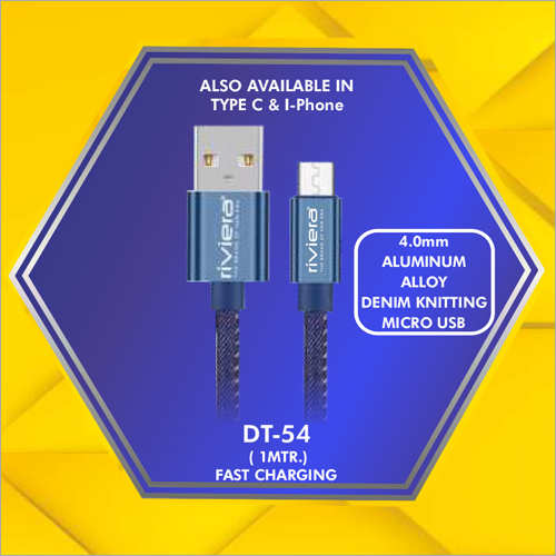 4.0 mm Micro Usb Data Cable