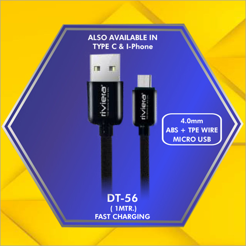 4.0 mm ABS Micro Usb Data Cable
