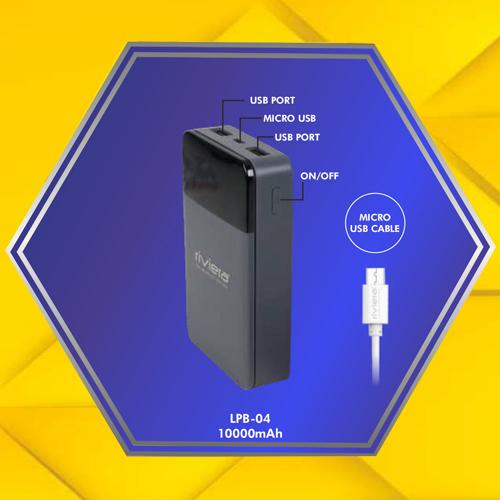 10000 MAH Mobile Phone Power Bank