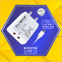 2.1 AMP Mobile Charger with Two USB