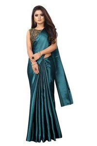 Silk Satin Saree