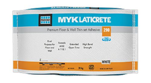 MYK Laticrete 290 Polymer Based Thin Set Adhesive
